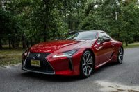 Lexus LC F could be taking on the BMW M8